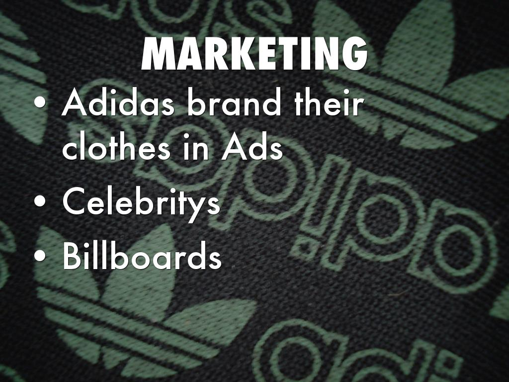 marketing and adidas Adidas- marketing mix - download as pdf file (pdf), text file (txt) or read online.