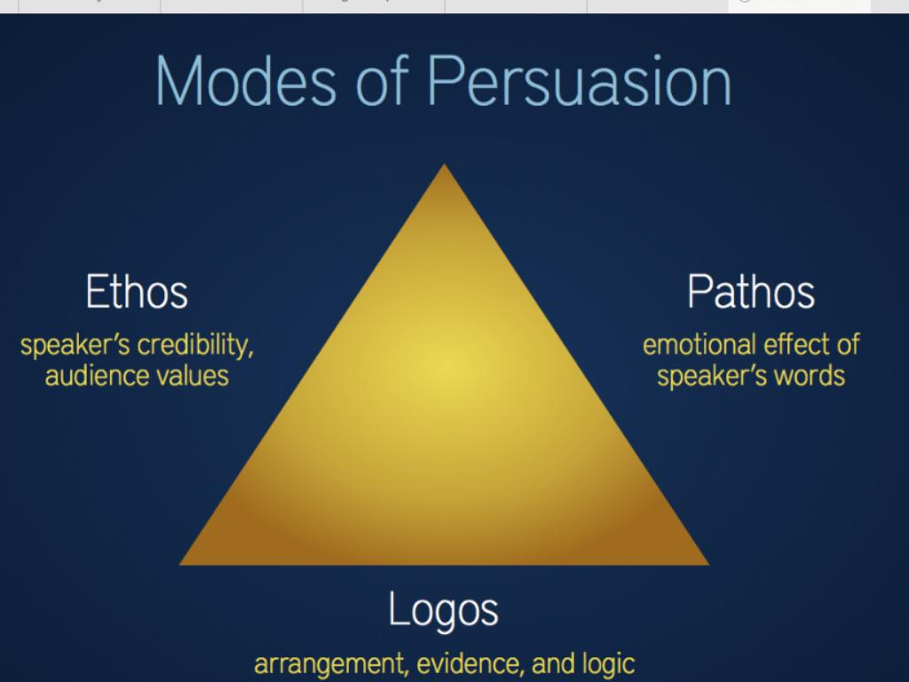 Ethos logos pathos and frankenstein