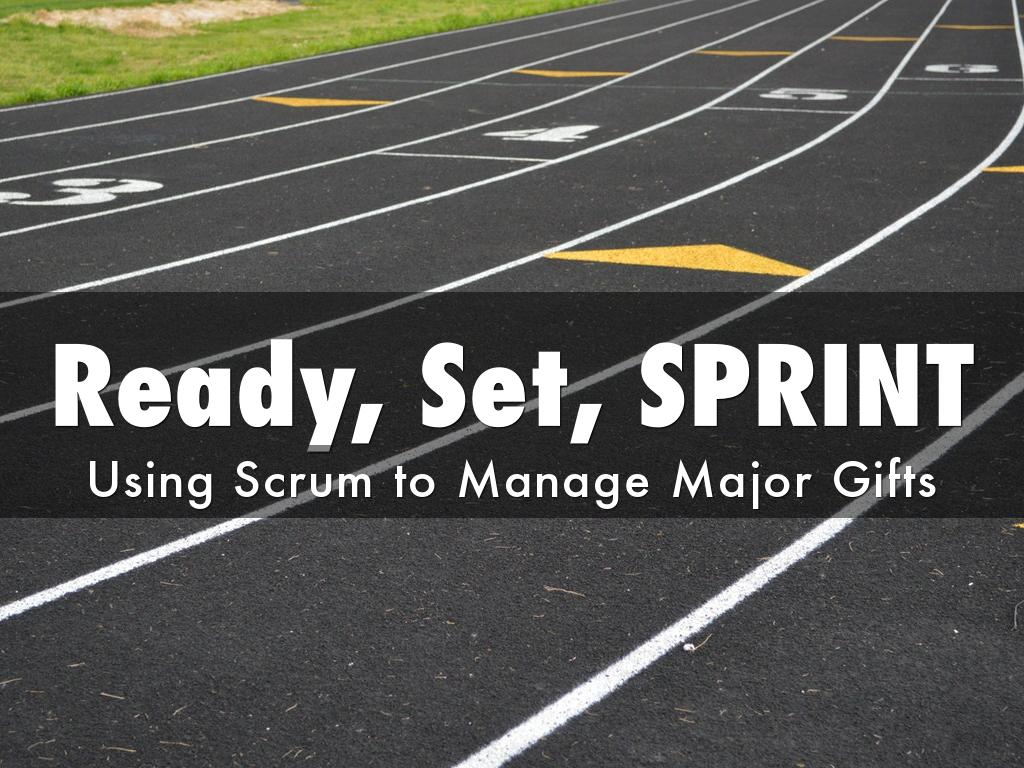 Sprinting Your Way Through Your Major Gifts Program