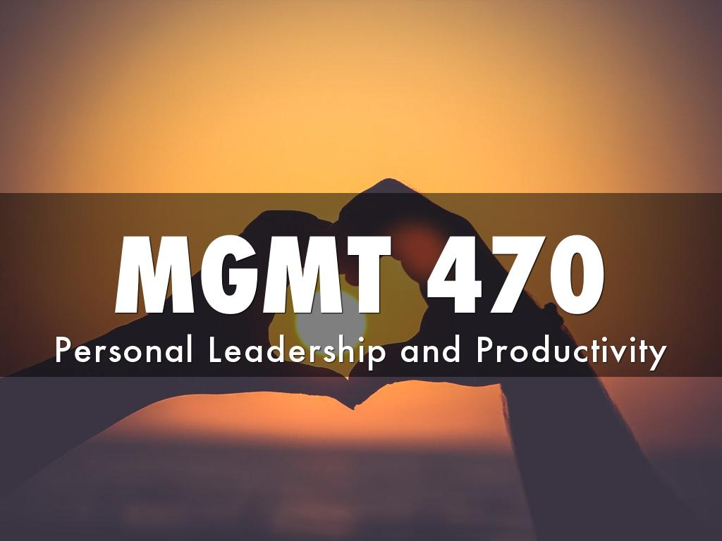MGMT 470