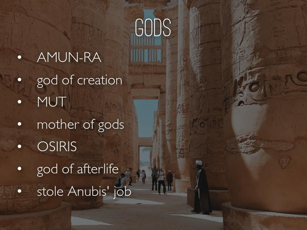 Religion & Gods by SHANNON GONZALES