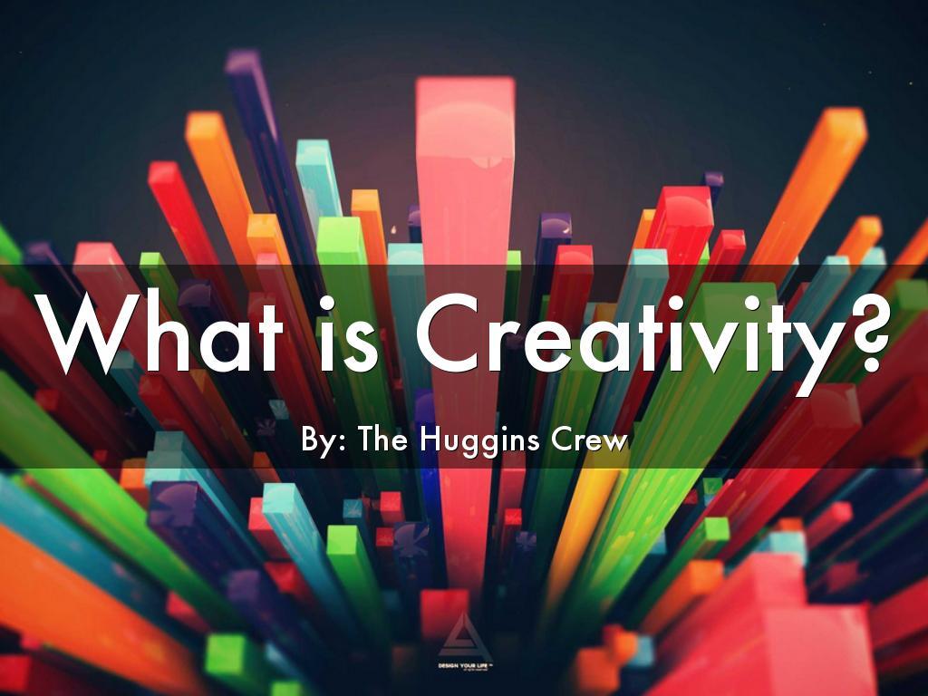 Copiar de What is Creativity