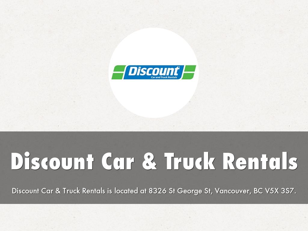 Discount Car & Truck Rentals By Discountcarvancouver