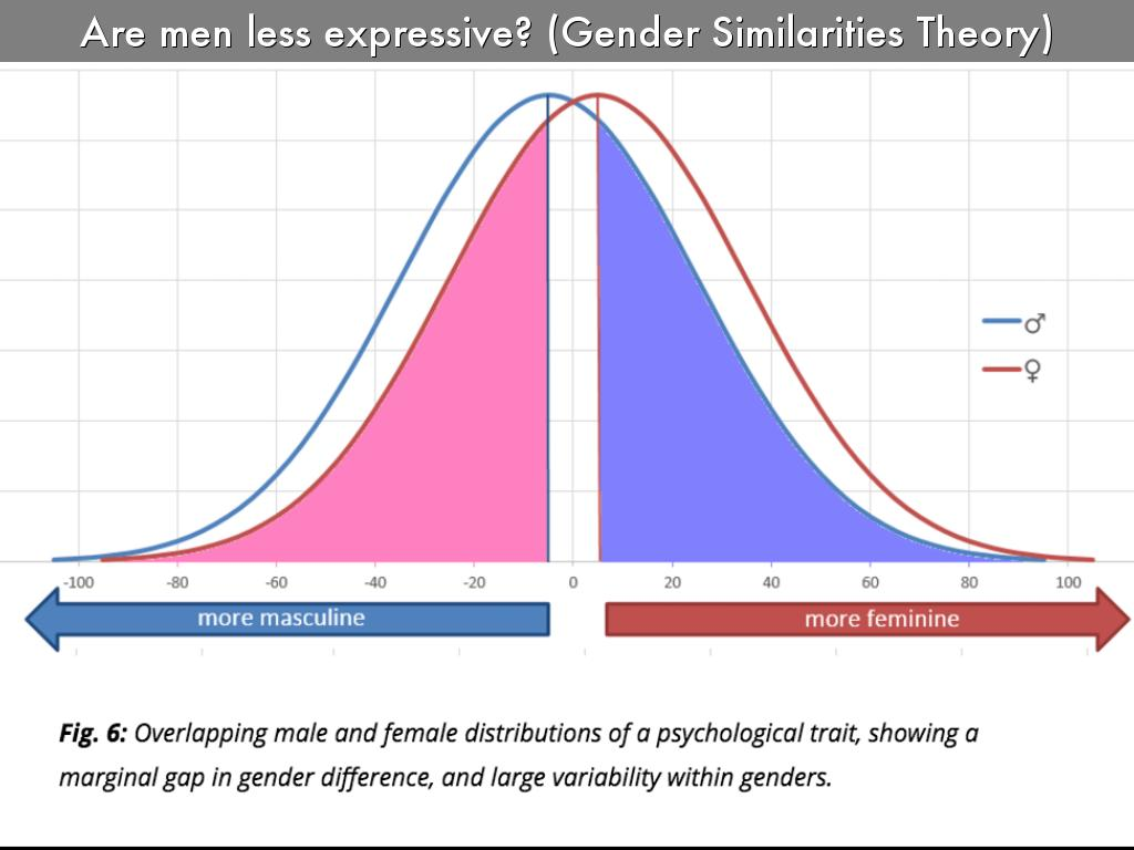 The gender similarity hypothesis proposes that males