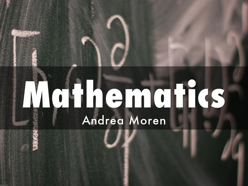 Moren Mathematics