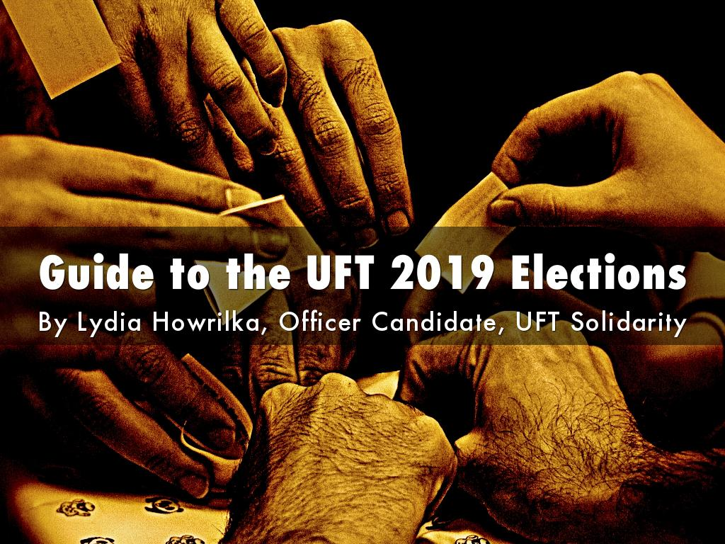 Guide to the UFT 2019 Elections