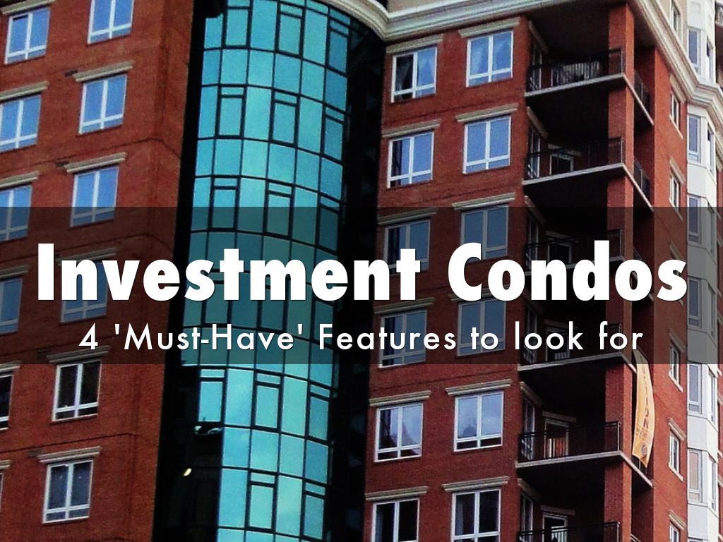 Investment Condos