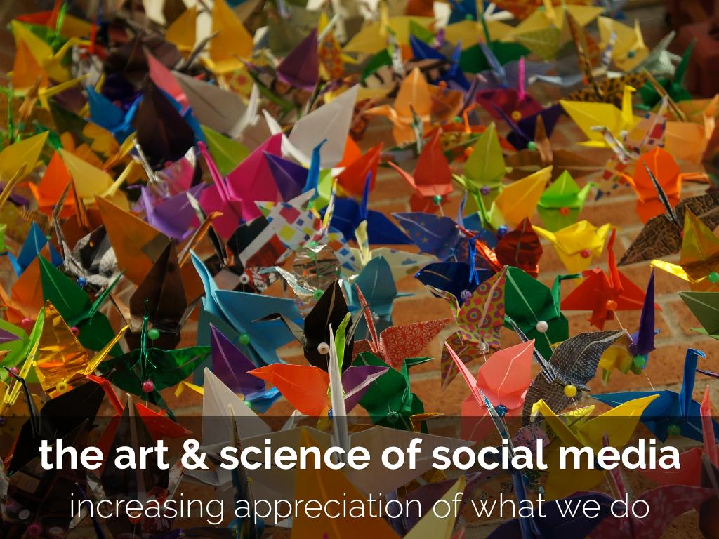 The Art and Science of Social Media