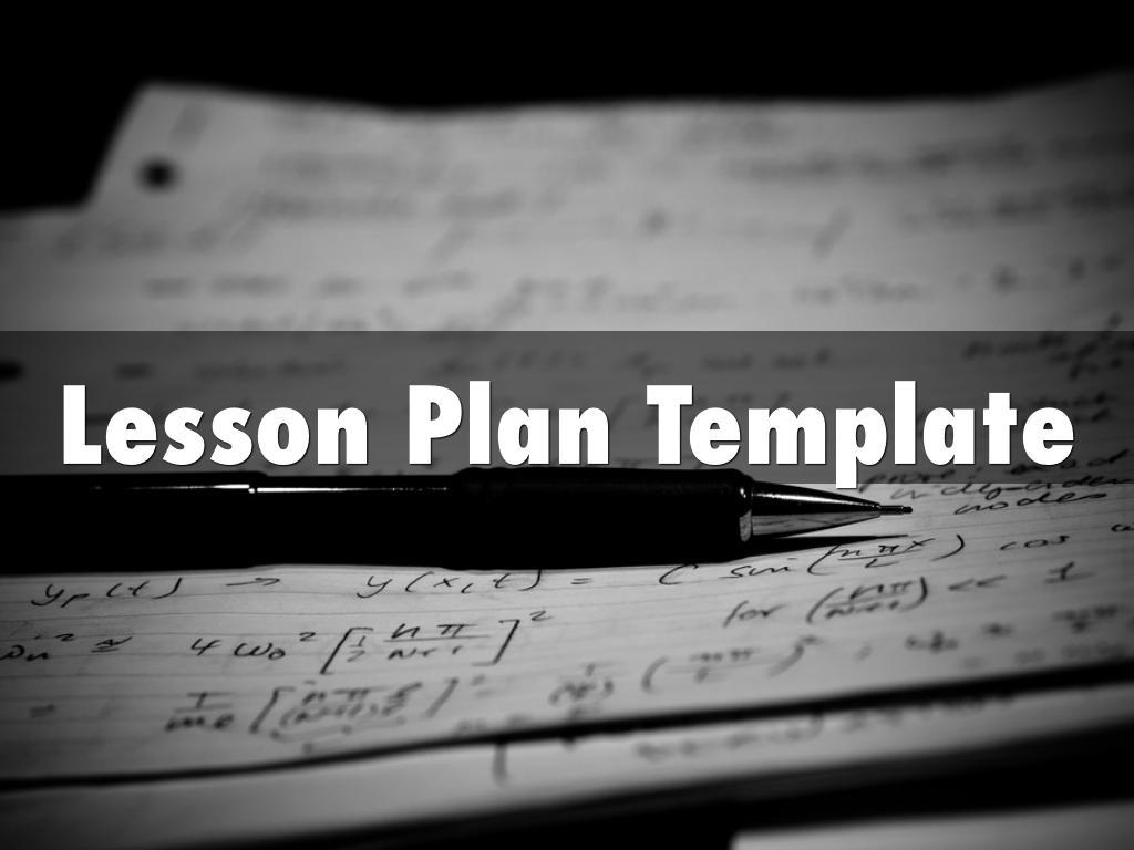Kopie von Lesson Plan Template