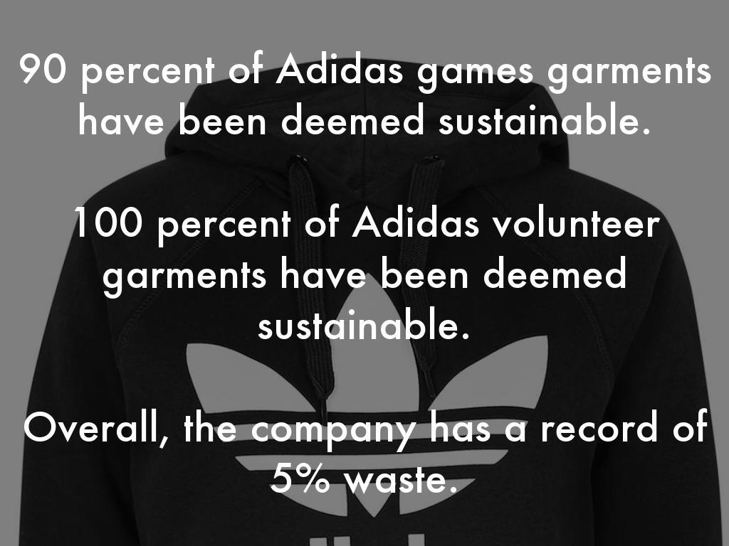 Sustainability: Adidas by Darragh Keogh