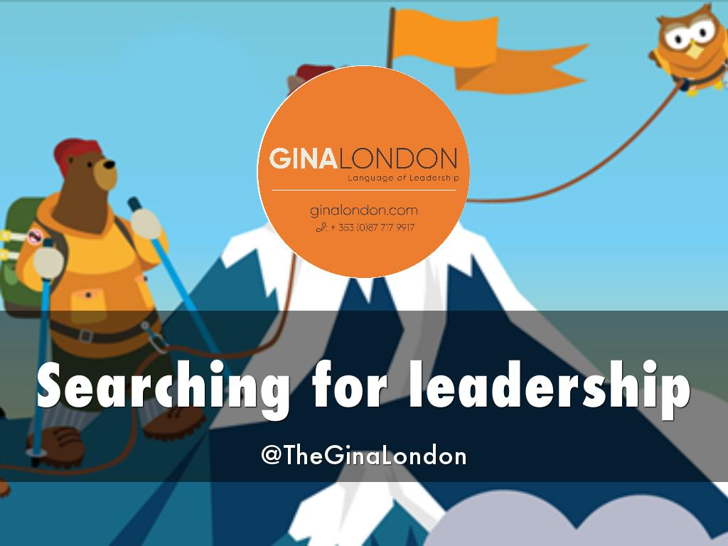 Searching for leadership