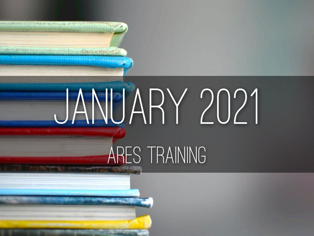 January 2021 Training