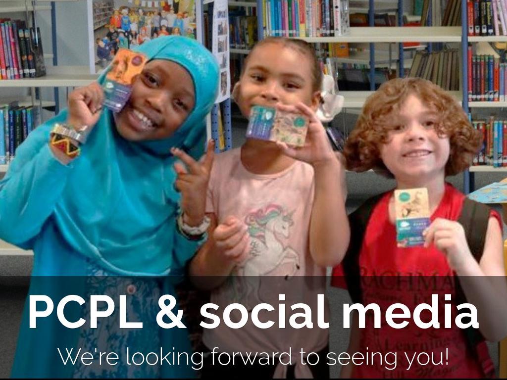 PCPL & Social Media 2019