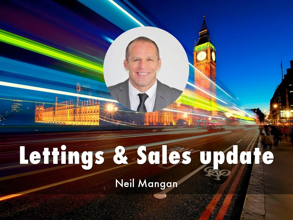 Lettings & Sales update