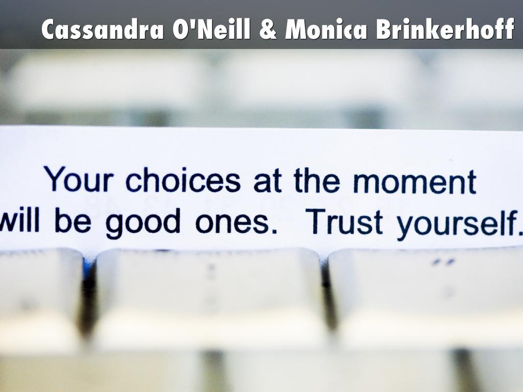 Cassandra O'Neill & Monica Brinkerhoff