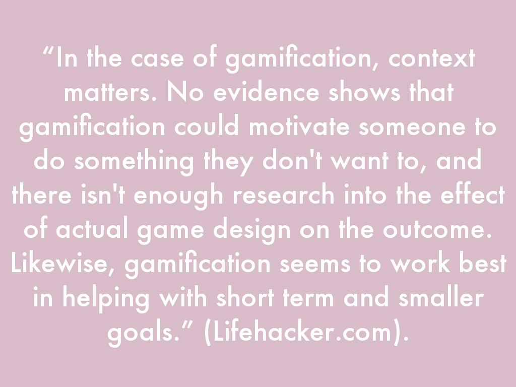 Gamification By Anthony Goodholm