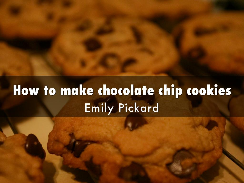 how to make cookies chip chocolate