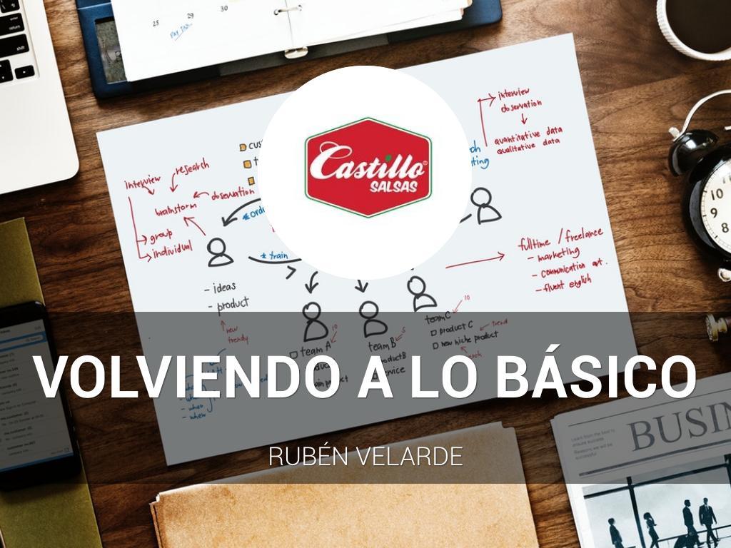 Volviendo a lo Básico | Salsas Castillo