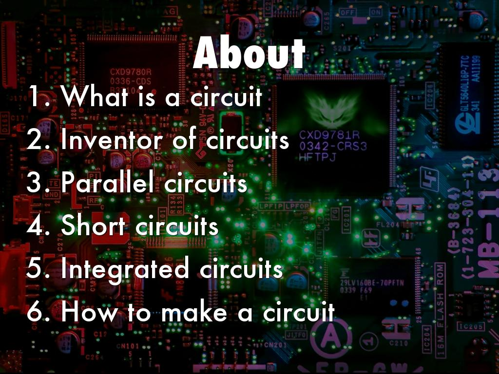Circuits By Andrea Cate Make A Parallel Circuit