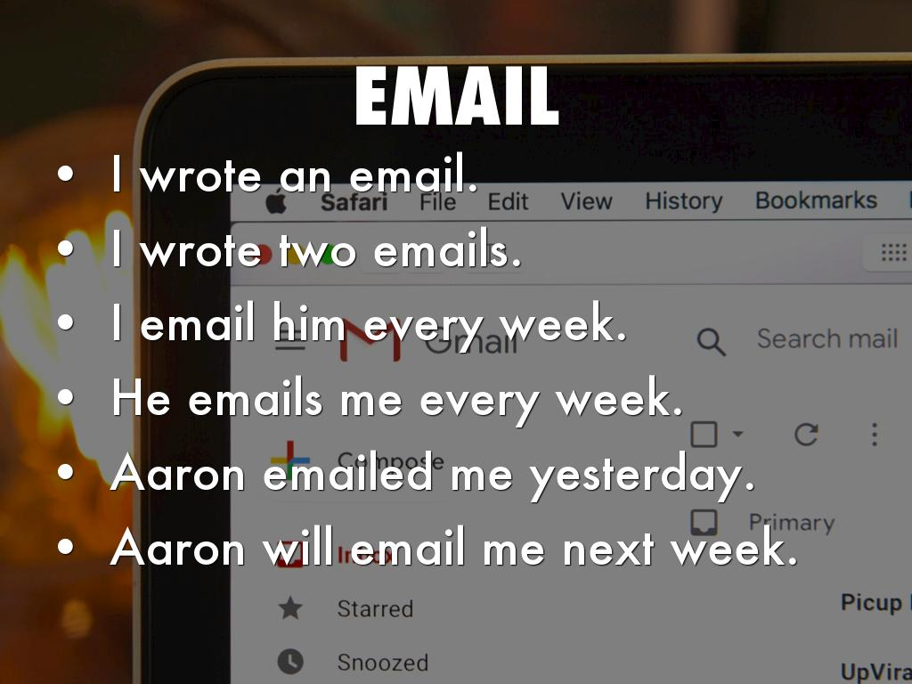 Emails - How To Write