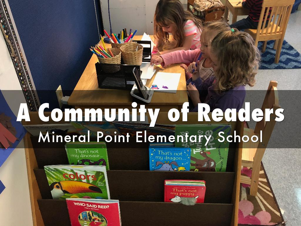 Building A Community of Readers