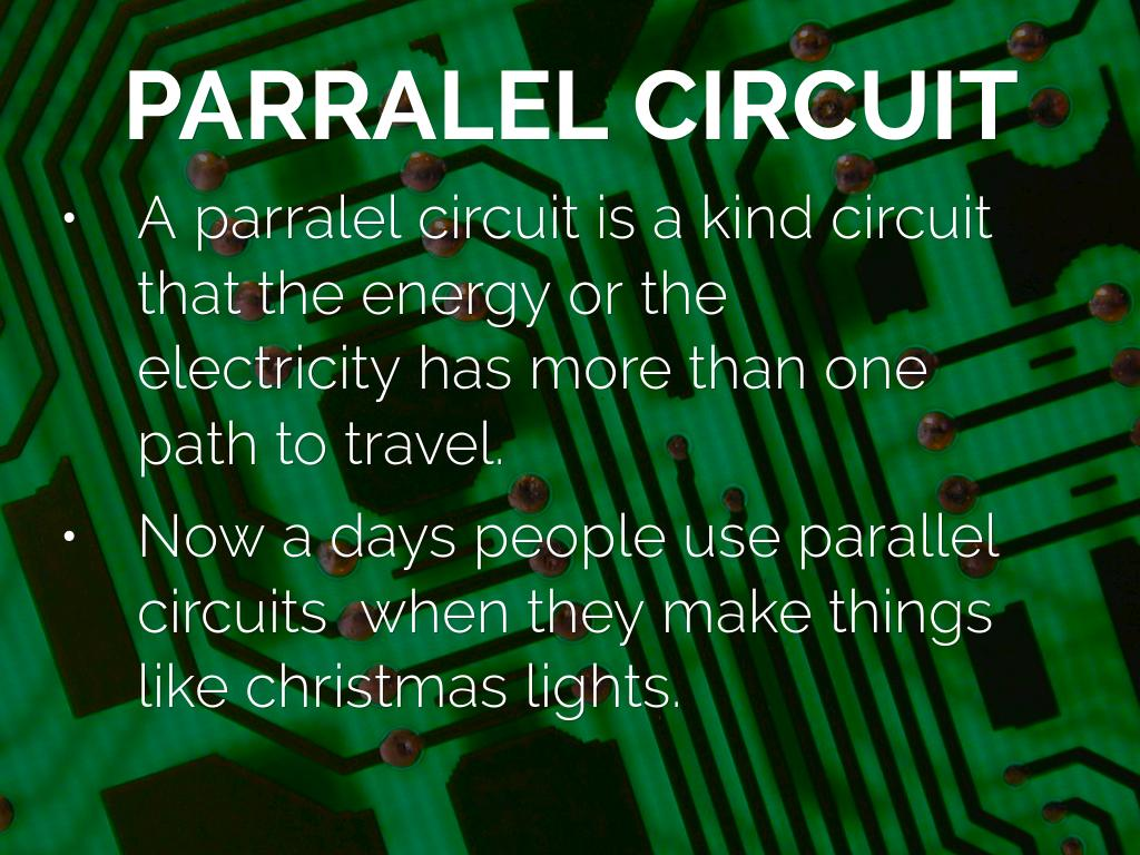Circuit By Victor Aguilar Make A Parallel 5