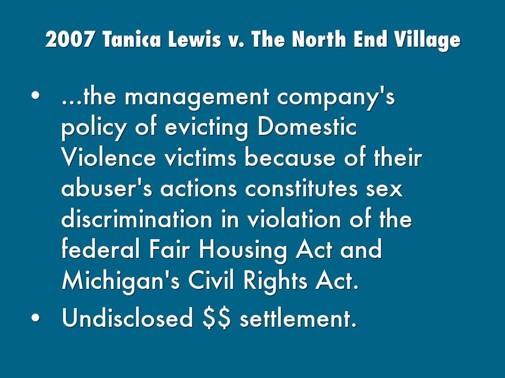 Webinar: Sex Discrimination in Housing: the Fair