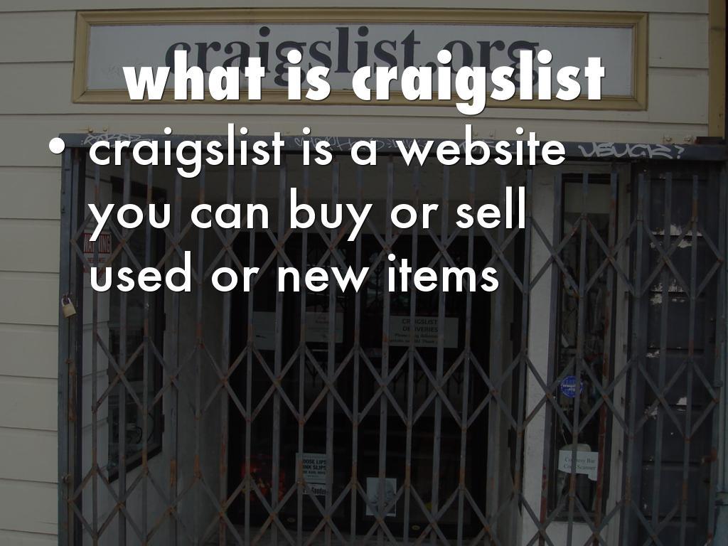 craigslist by Daniel Wilson
