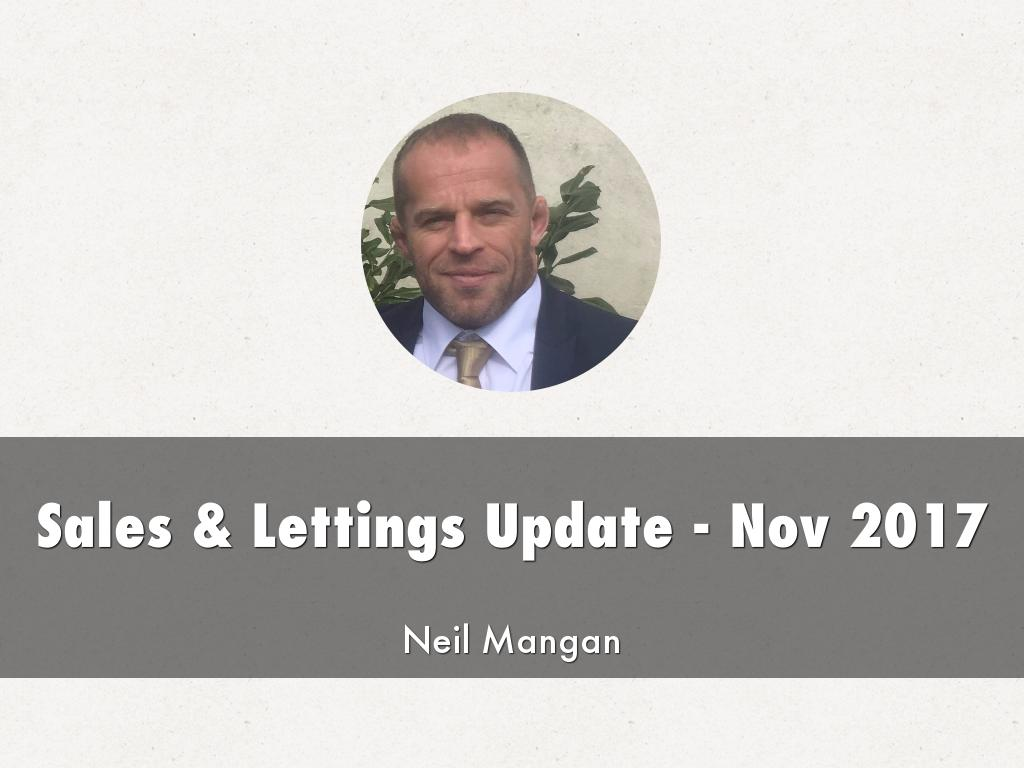 Sales & Lettings Update - Nov 2017