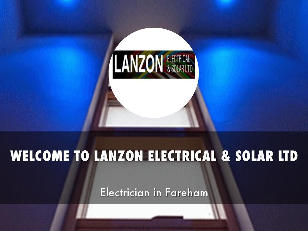 LANZON ELECTRICAL & SOLAR LTD PRESENTATIONS