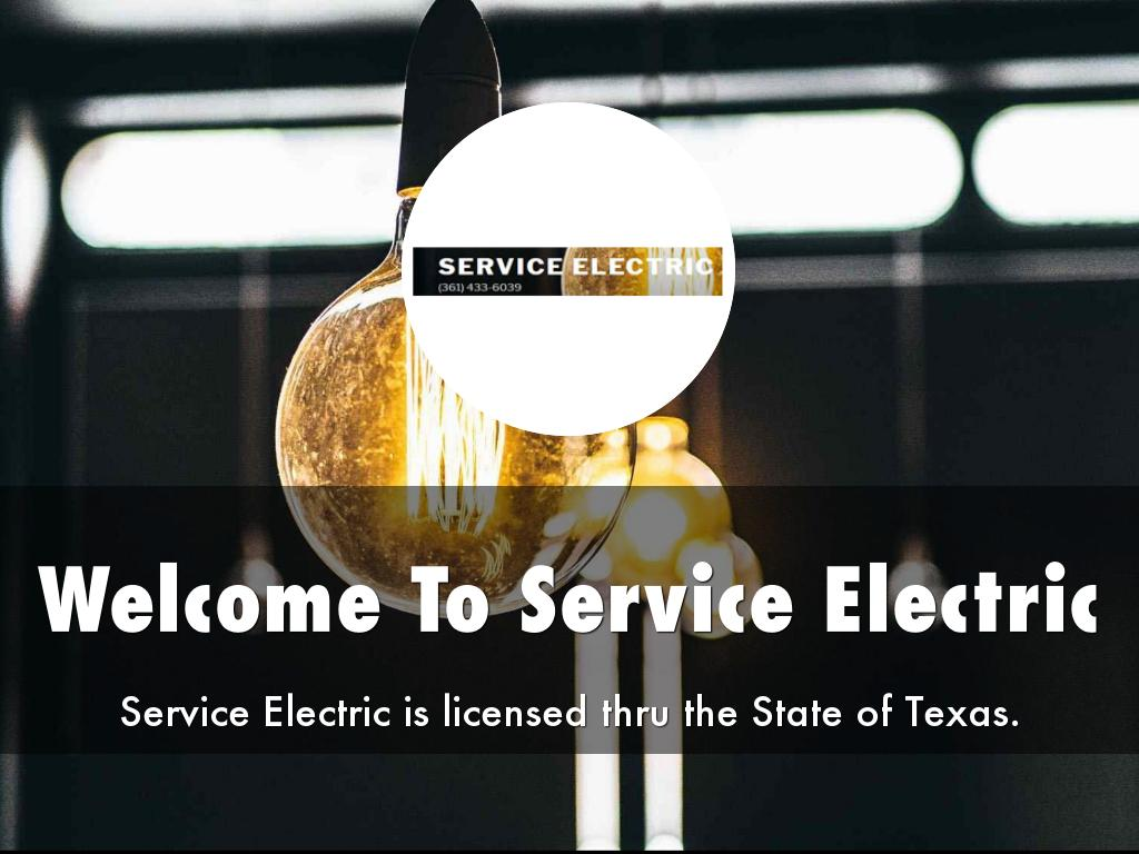 Service Electric Presentation