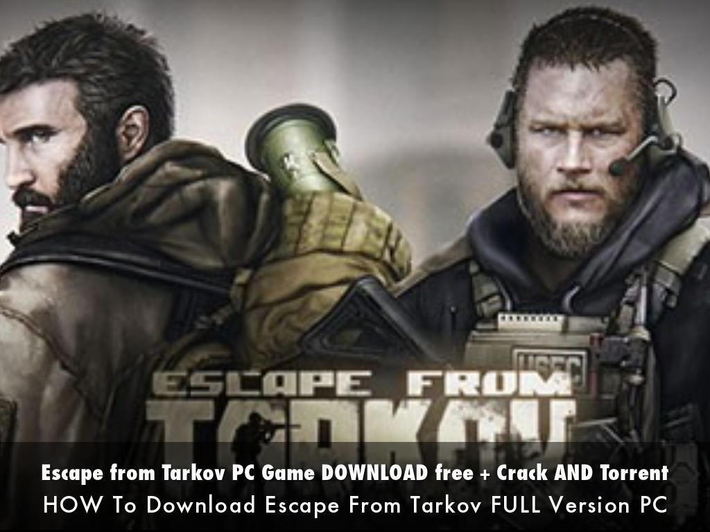 escape from tarkov free download for pc