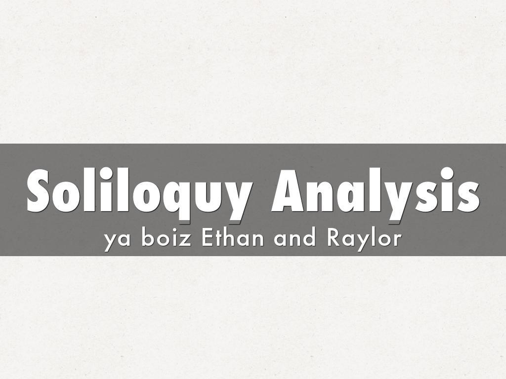 othello soliloquy analysis