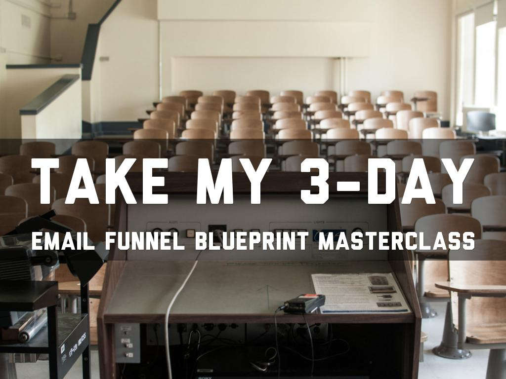 3 day email funnel by patricia browne take my 3 day email funnel blueprint masterclass malvernweather Choice Image