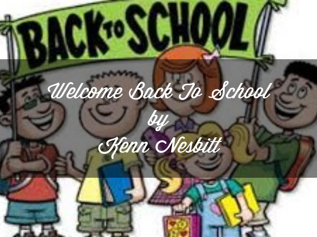 Welcome Back to School by Areeb Syed