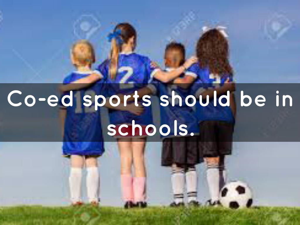 should sports be coed