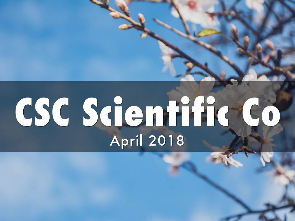 csc scientific co