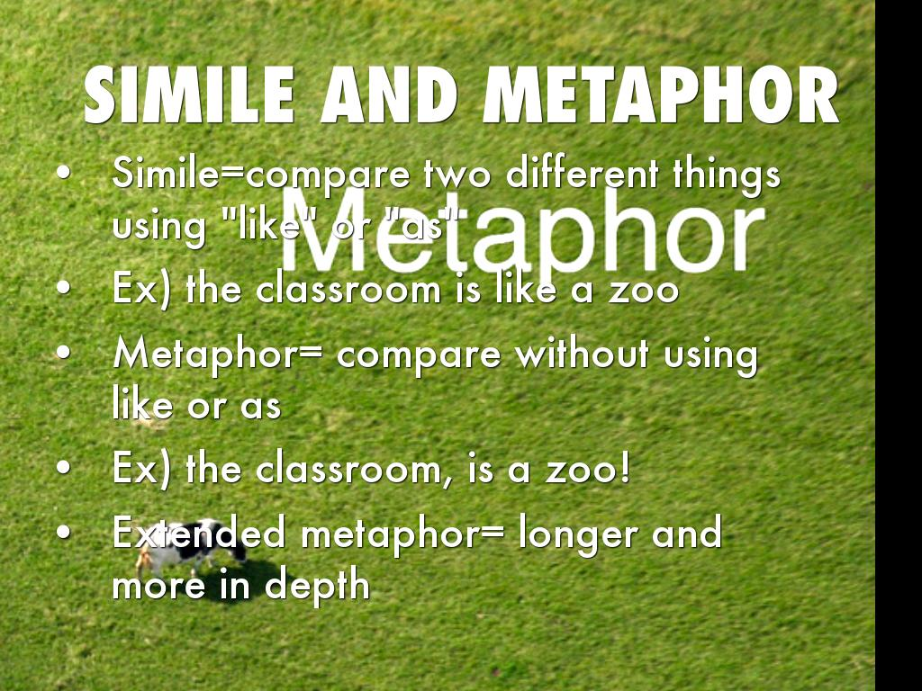 methaphors simile of mother Students learn about metaphors and similes, and write a poem using metaphors.
