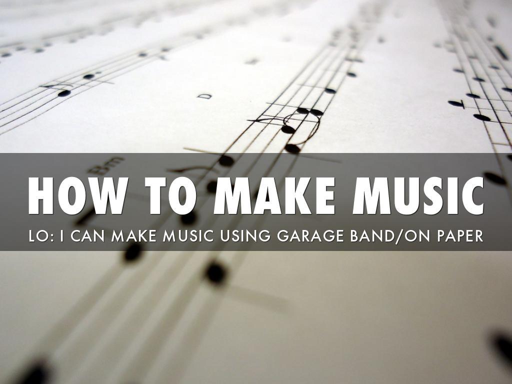 Make Music by Kei Huq