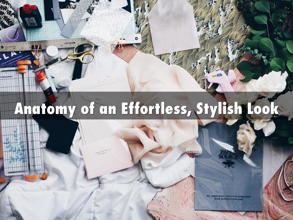 Anatomy of an Effortless, Stylish Look by Christine