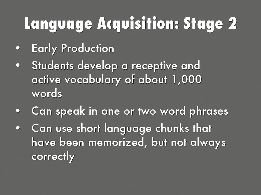 second language acquisition learners profile English vocabulary acquisition of bilingual learners at the perspective of thailand language education, a brief profile of and second language acquisition.