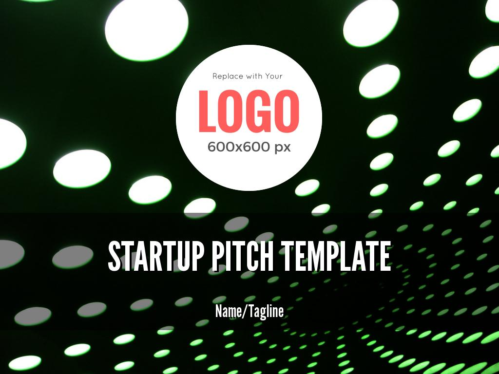 Startup Pitch Template