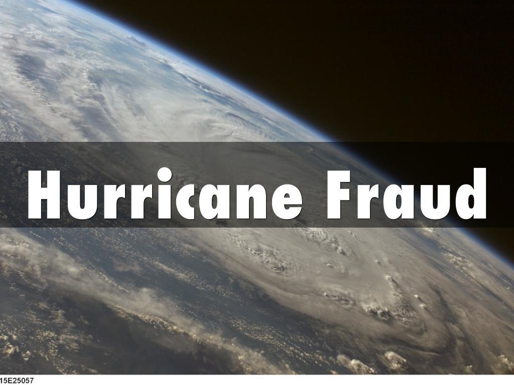 HurricaneFraud