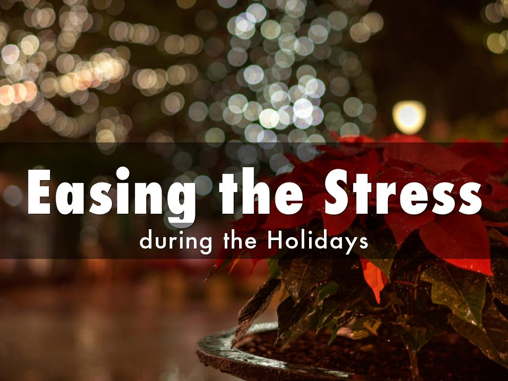 Easing the Stress of Holiday Shopping