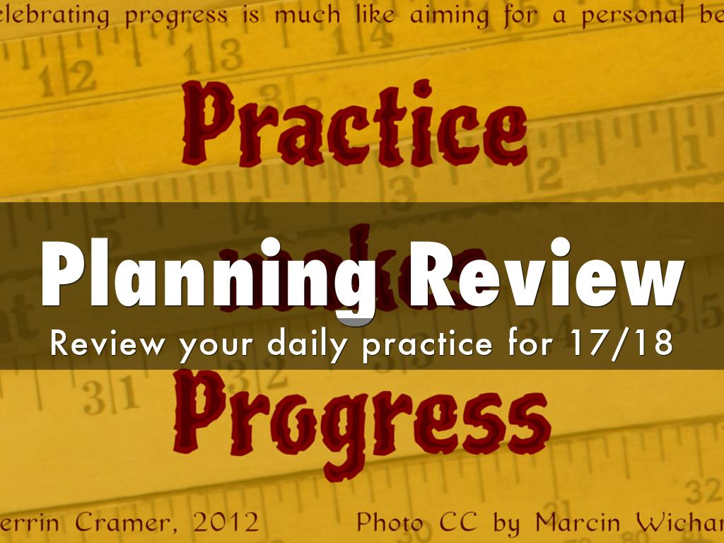 Planning Review