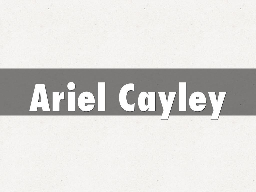Ariel Cayley