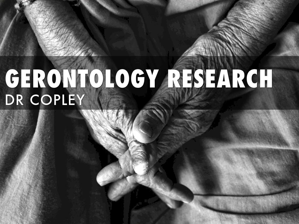 Gerontology Research FA19