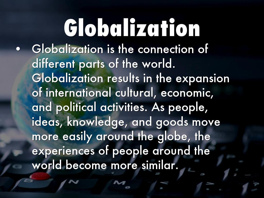 globalization by makins faluyi