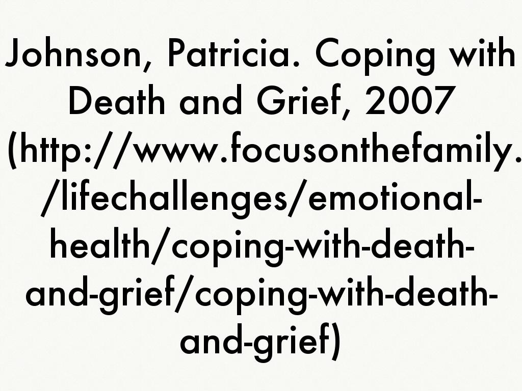 coping with death Learn the meaning of the acronym dabda, which is short-hand for the commonly recognized five stages of coping with death.