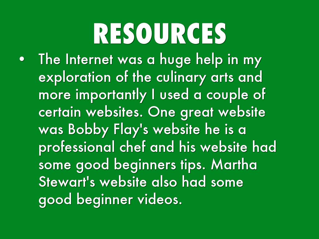 professional chef websites